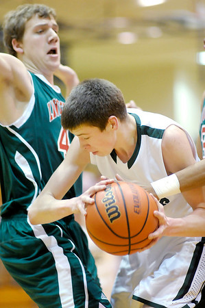 Don Knight / The Herald Bulletin<br /> Pendleton Heights hosted Lawrence North on Wednesday.
