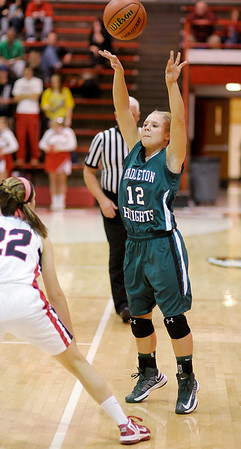 Frankton hosted Pendleton Heights on Saturday.