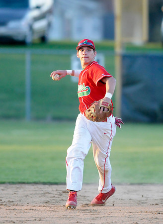 Don Knight   The Herald Bulletin<br /> Anderson faced Pendleton Heights in the Nick Muller Memorial Baseball Tournament championship on Saturday at Memorial Field.