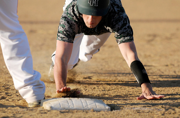 Don Knight | The Herald Bulletin<br /> Anderson faced Pendleton Heights in the Nick Muller Memorial Baseball Tournament championship on Saturday at Memorial Field.
