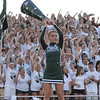 Pendleton Heights cheerleader Desire Gibson.