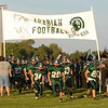 The Pendleton Heights Arabians take the field.
