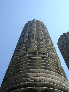 Chicago Visit, 2006  Marina City.  House of Blues is in this Building