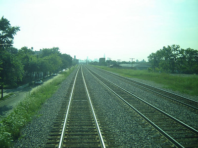 Chicago Visit, 2006  Riding the Union Pacific Railroad  from Winfild Il. to Chicago