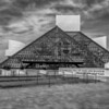 Rock and Roll Hall of Fame<br /> Cleveland, OH<br /> Black and White Version