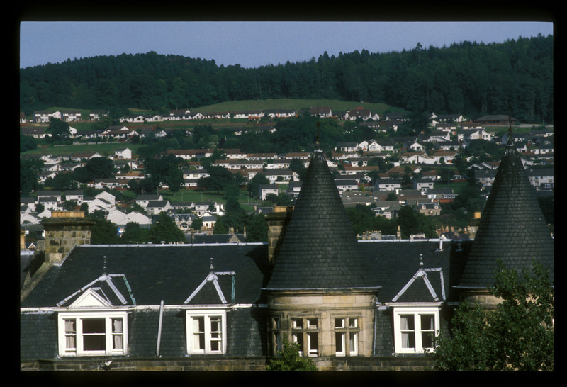 Residential area of Inverness, Scotland.