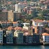 North Sydney, Australia waterfront.
