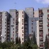 High rise apartment building, Podgorica, Montenegro.