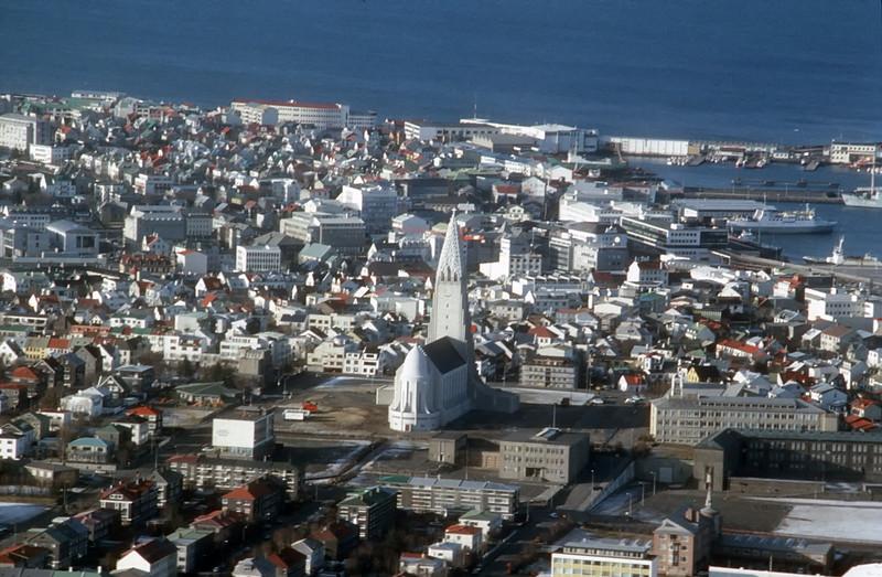 Hallgrim's church, Reykjavik, Iceland.