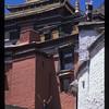 Happy monk, Tashilumpo Monastery, Shigatse, Tibet.