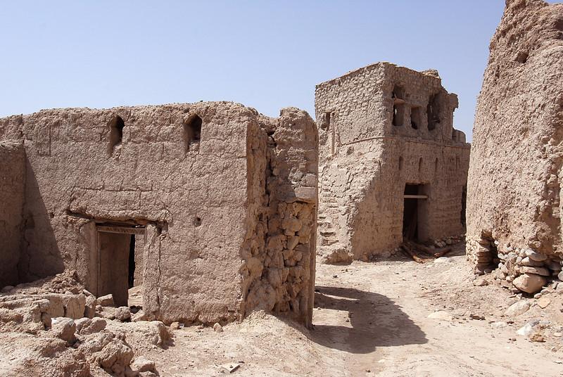 Abandoned village, rural Oman.