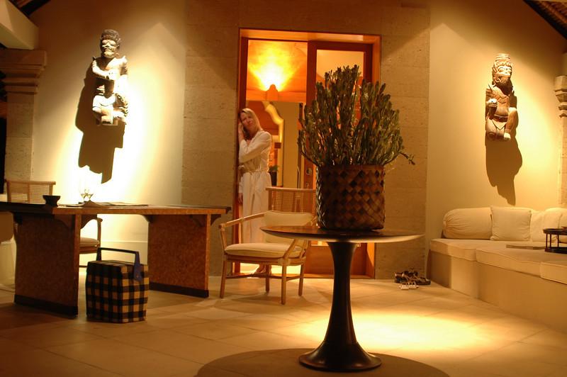 Hotel suite at Amankila, Bali, Indonesia.