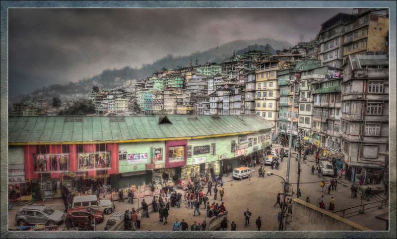 Gangtok, Sikkim, India.