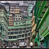 Downtown Gangtok, Sikkim, India.