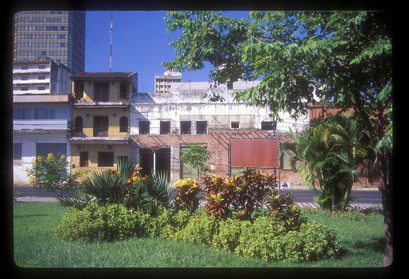 City street, Asuncion, Paraguay.