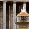 Fountain, Vatican City.