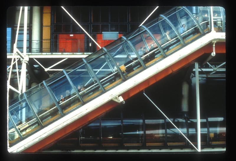 Le Centre Pompidou, Paris, France.