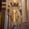 Interior of Sultan Qaboos Grand Mosque, Muscat, Oman.