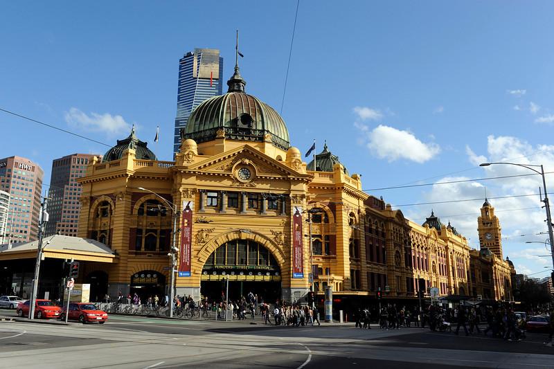 Flinders Street rail station, Melbourne, Australia.