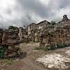 Ruins at Cathedral of San Jose, Antigua, Guatemala.