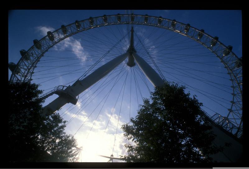 The London Eye, London, England.