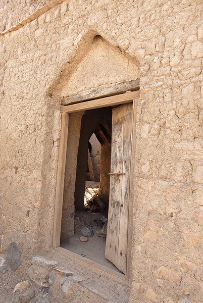 Abandoned village, rural Oman.