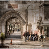 """Near the grand bazaar, Sultanahmet, Istanbul, Turkey. HDR, with <a href=""""http://www.flickr.com/photos/skeletalmess/3401271175/in/set-72157611177099692"""">texture</a> by <a href=""""http://shadowhousecreations.blogspot.com/"""">SkeletalMess</a>."""