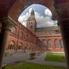 Courtyard, Riga, Latvia.