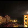 Hotel/residential area, downtown Valetta, Malta.