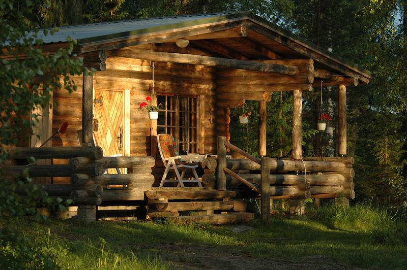 Summer cottage near Varkaus, Finland.
