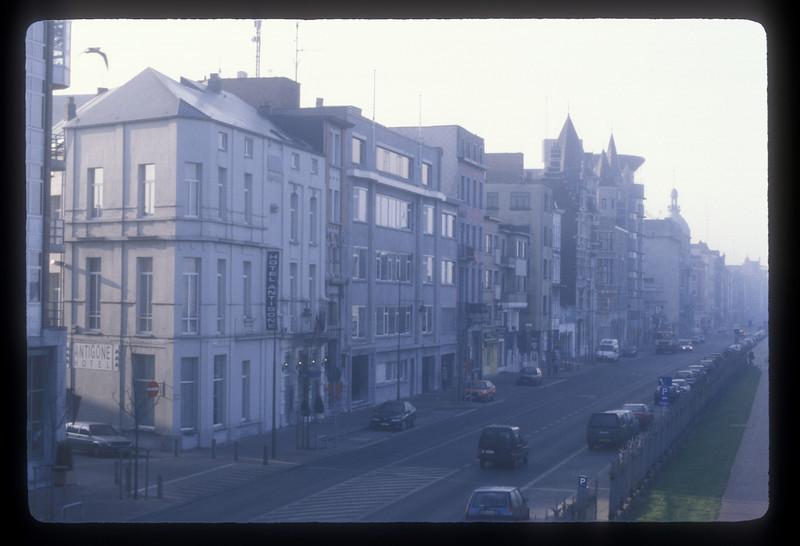 Street, Antwerp, Belgium.