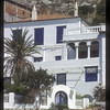 Architecture typical of the Greek Isles, Hydra, Greece.
