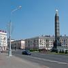 Victory Square, Minsk, Belarus.