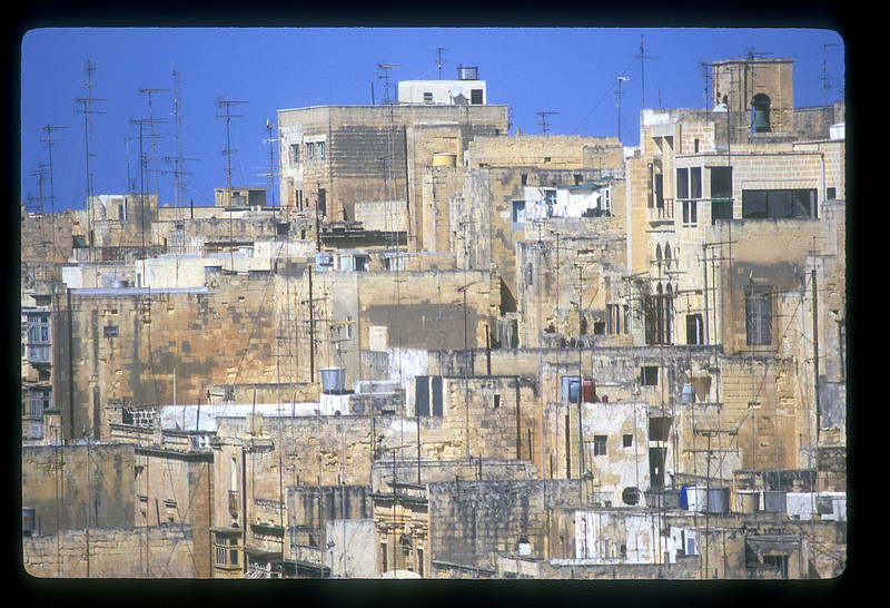 Rooftops, Valetta, Malta.