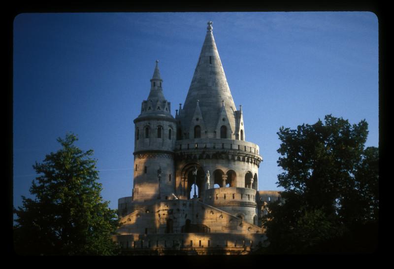 Buda castle, Budapest.