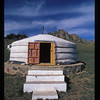 Yurt hotel, Mongolia.