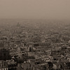 Paris from Montmartre, Paris, France.
