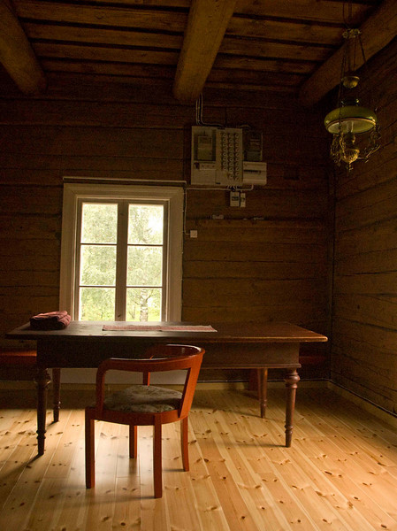 Antiques in old farmhouse, rural Finland.