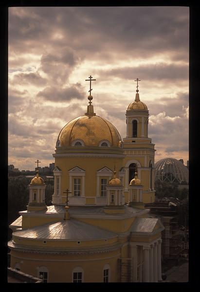 Orthodox cathedral, Ekaterinberg, Sverdlovsk Oblast, Russia.