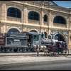 Antique Train #3, Havana, Cuba - HDR.