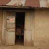 Rural Ugandan shop.