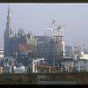 Wharf, Amsterdam, the Netherlands.