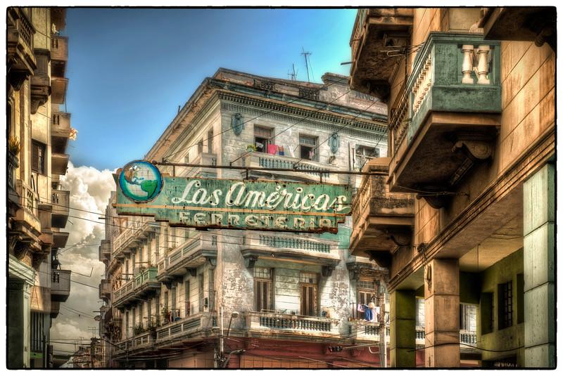 Neighborhood, Havana, Cuba - HDR.
