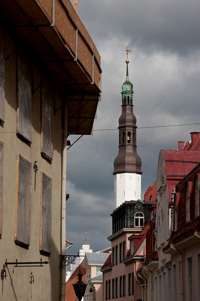 Rooftops, Tallinn, Estonia.
