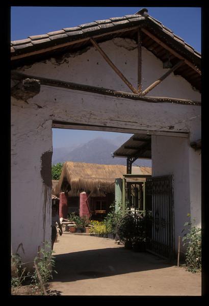 Hacienda outside Santiago, Chile.