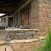 A cabin at the Virunga Lodge near Parc National des Volcans, Rwanda.