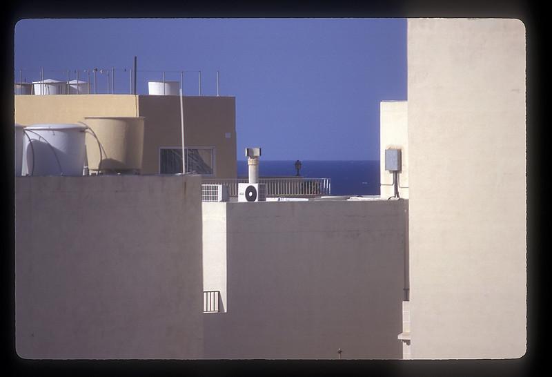 Architecture and the sea, Valetta, Malta.