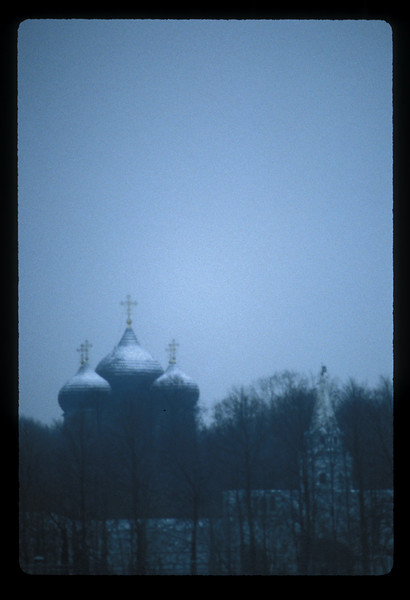 Novodevichy Convent and Monastery, Moscow, Russia.