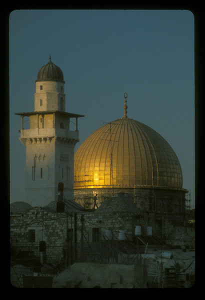 The Dome of the Rock, Jerusalem.