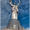 The Mother Motherland statue, the tallest statue in the world when it was finished, Kyiv, Ukraine.